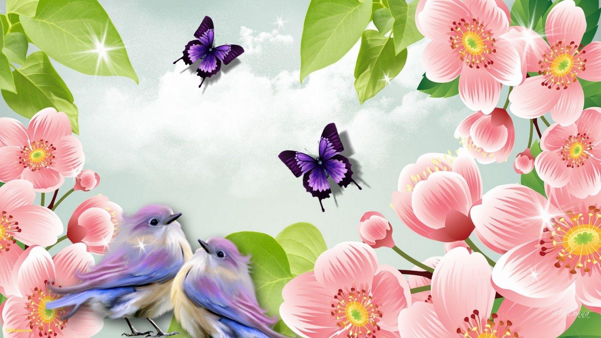 Wallpaper Cute Spring HD 2021 Live Wallpaper HD Spring 1920x1080