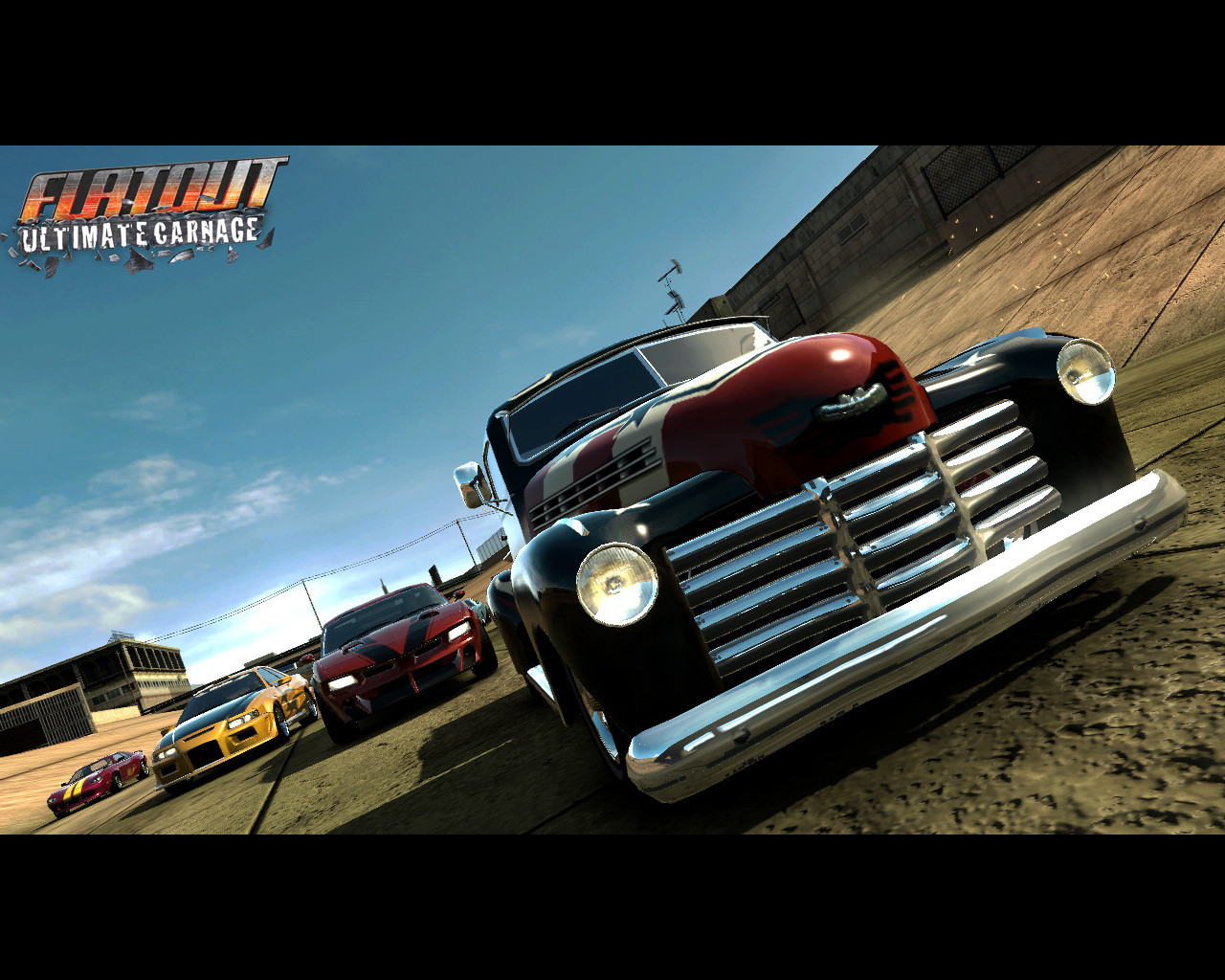 brand new flatout ultimate carnage wallpaper brand new wallpaper brand 1280x1024