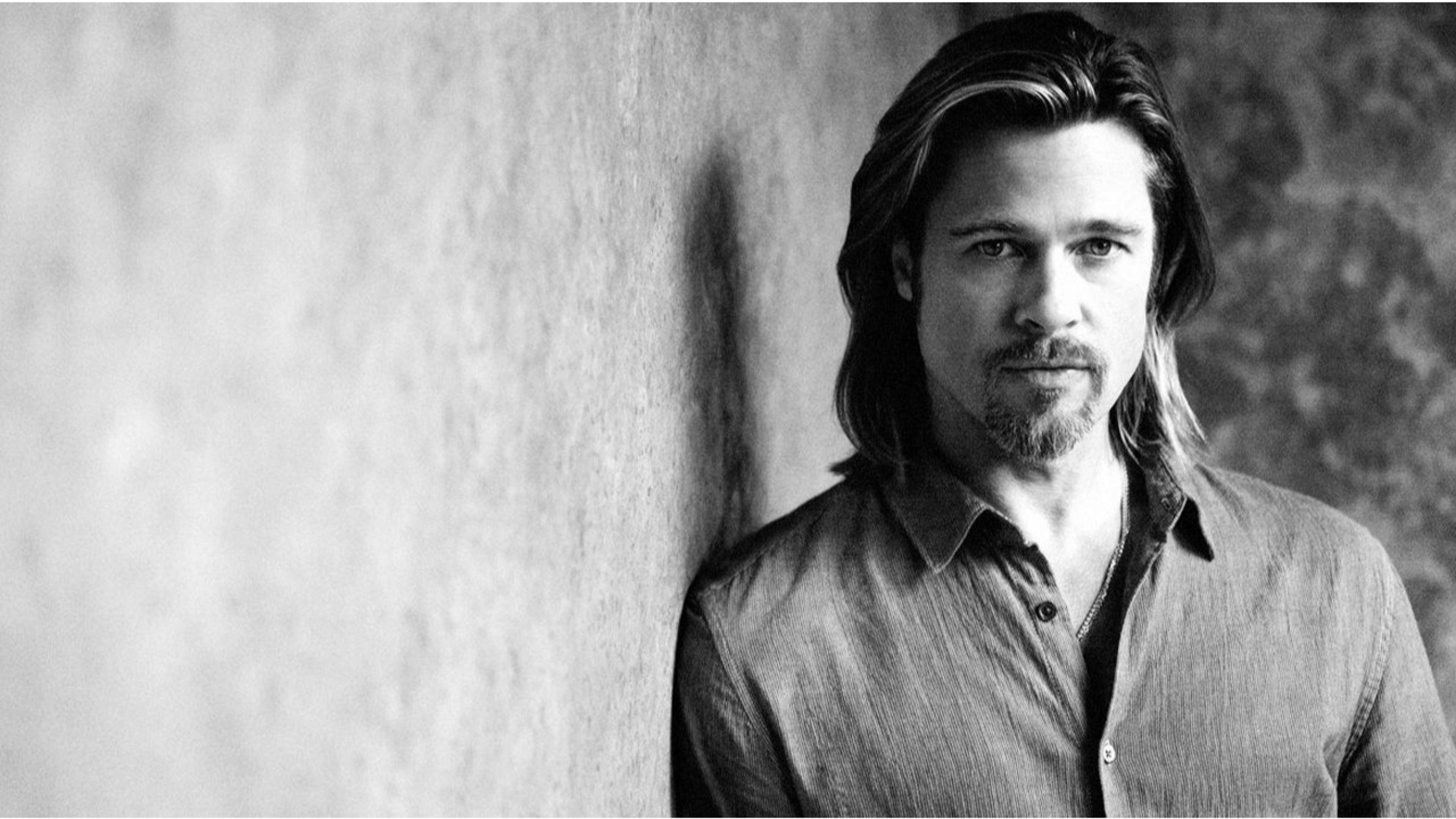 Brad Pitt Wallpapers 45 Brad Pitt Computer Images 3840x2160