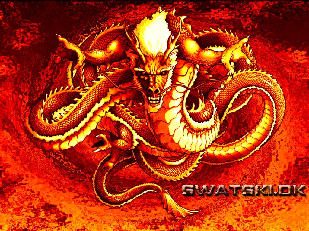red chinese dragon wallpaper - photo #4