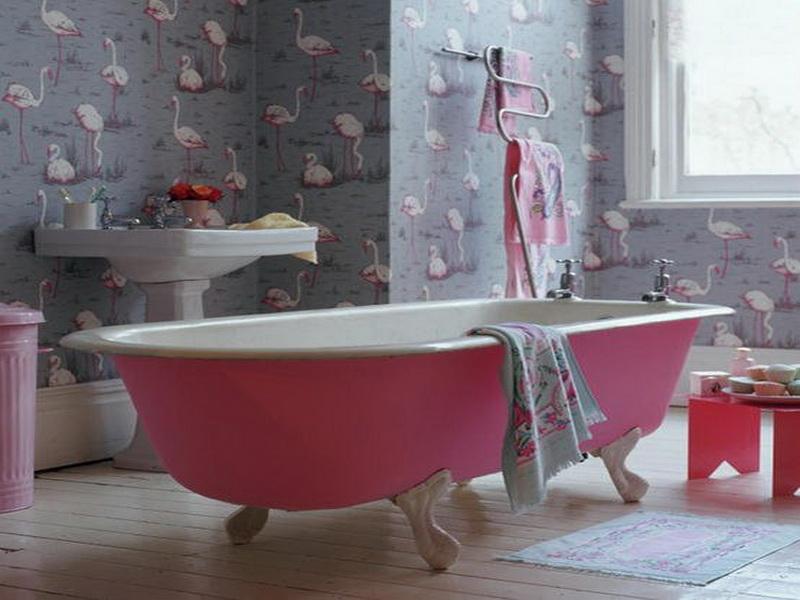 December 03rd 2013 Bathroom Waterproof Wallpaper For Bathrooms 800x600