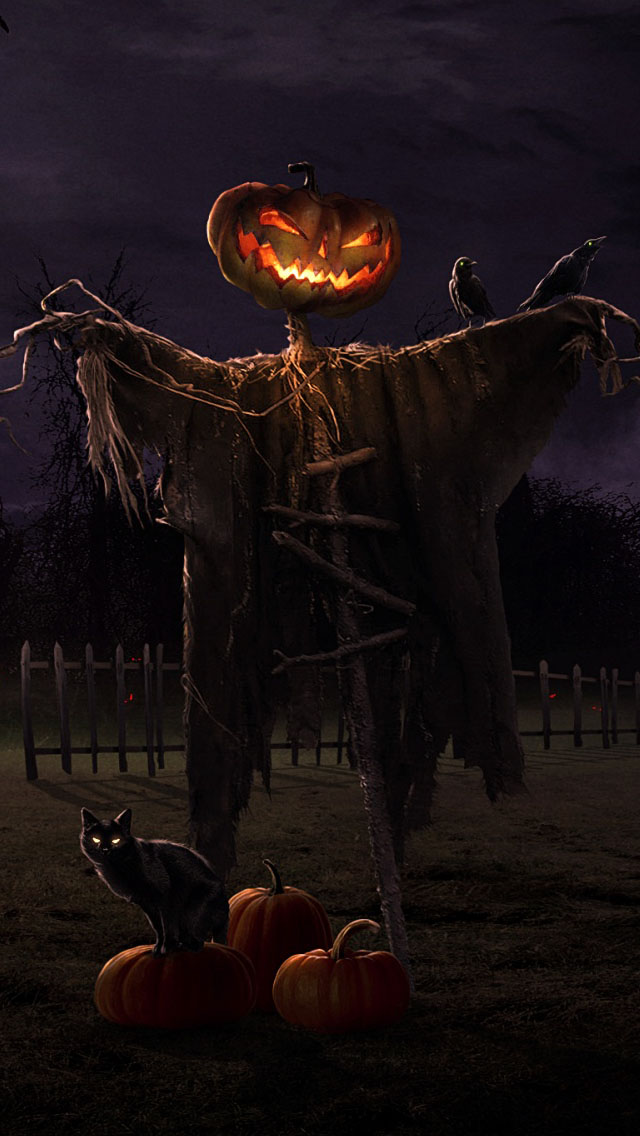 [50+] Free Halloween Wallpaper for iPhone on WallpaperSafari