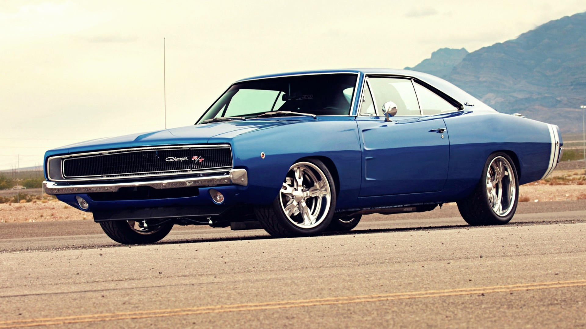 cars Dodge vehicles Dodge Charger 1970 Wallpapers 1920x1080