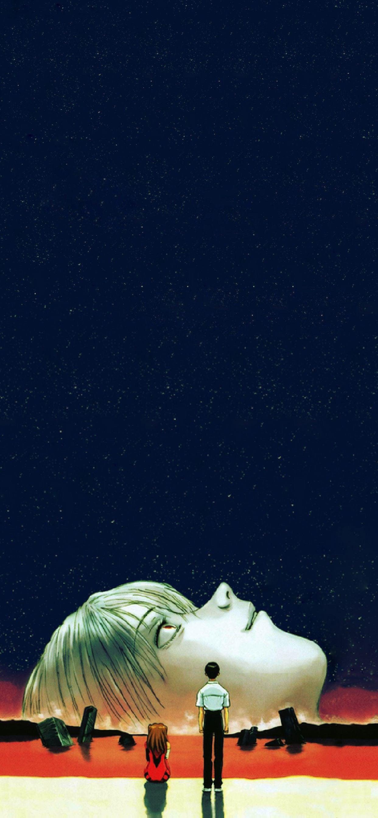End of Evangelion Phone Wallpaper evangelion 1242x2688