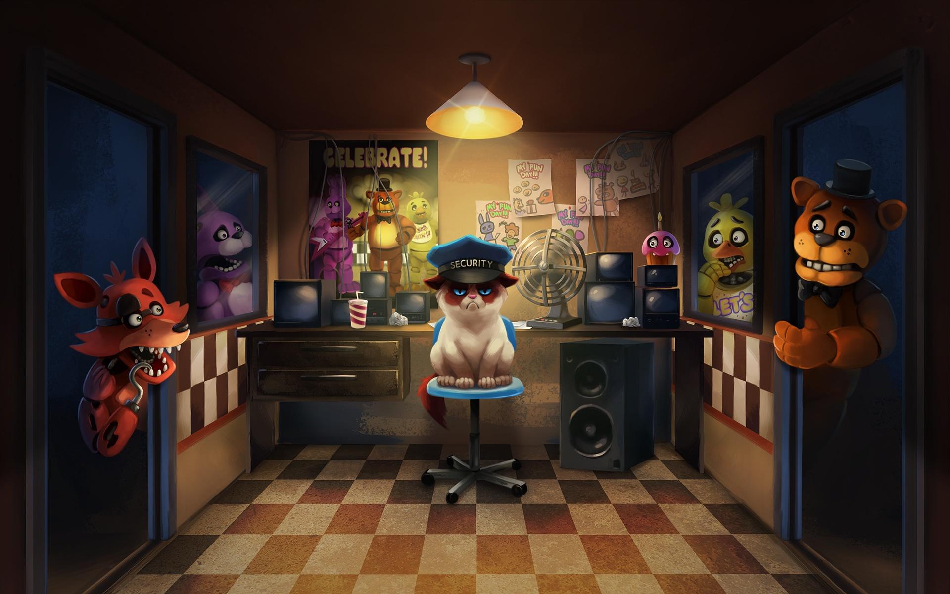 Wallpapers Five Nights at Freddy's - WallpaperSafari