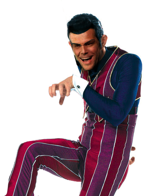 Dane Cook as Robbie Rotten by icarn 536x634