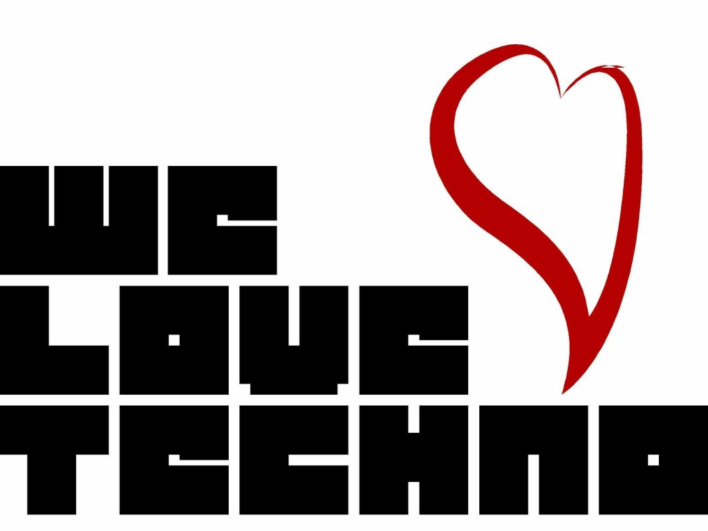 1024x768 We love Techno wallpaper music and dance wallpapers 1024x768