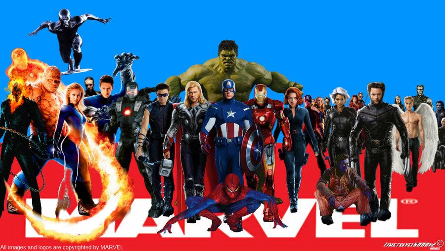 Marvel Superheroes Wallpaper Widescreen by Timetravel6000v2 on 900x508