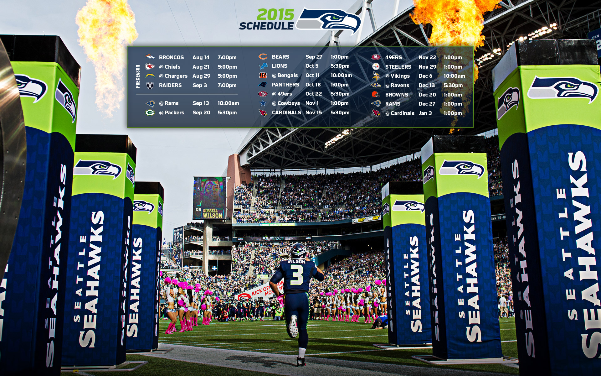 Seahawks Wallpapers Seattle Seahawks 1920x1200