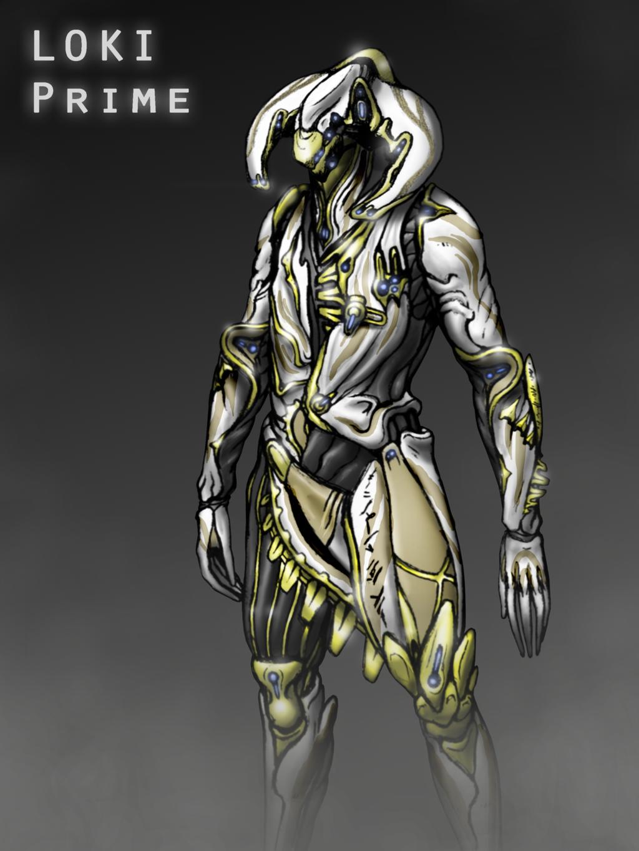 Warframe Loki First loki prime concept 1024x1365
