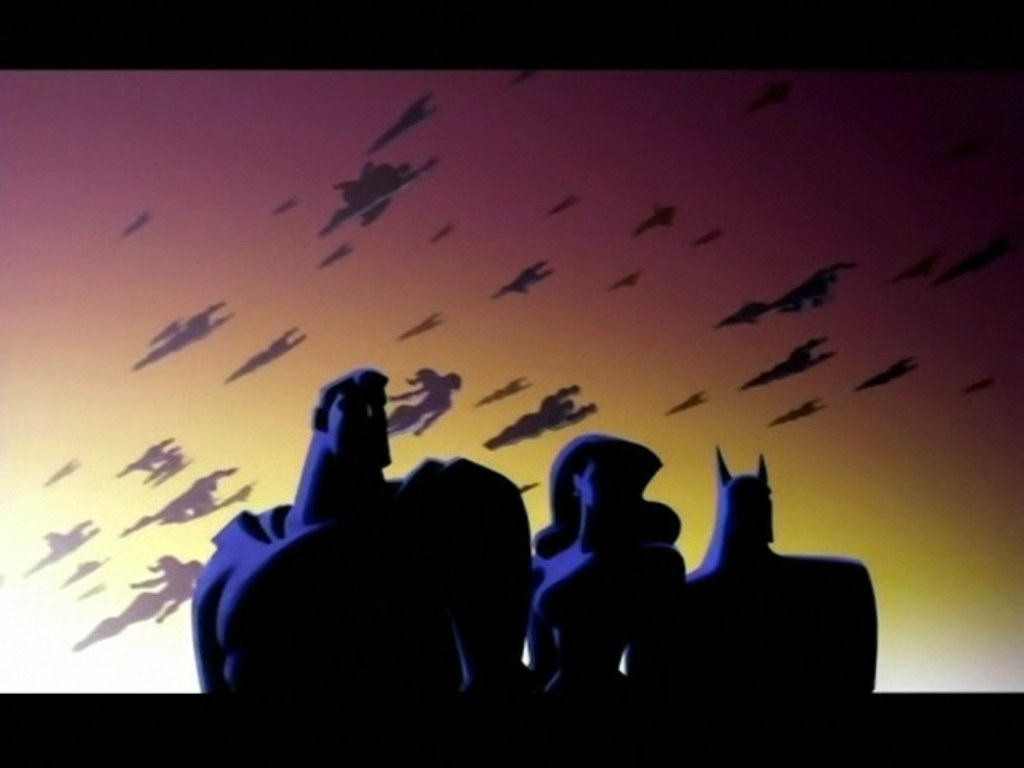 Justice League Unlimited TapetkyCZ   wallpapers 1024x768