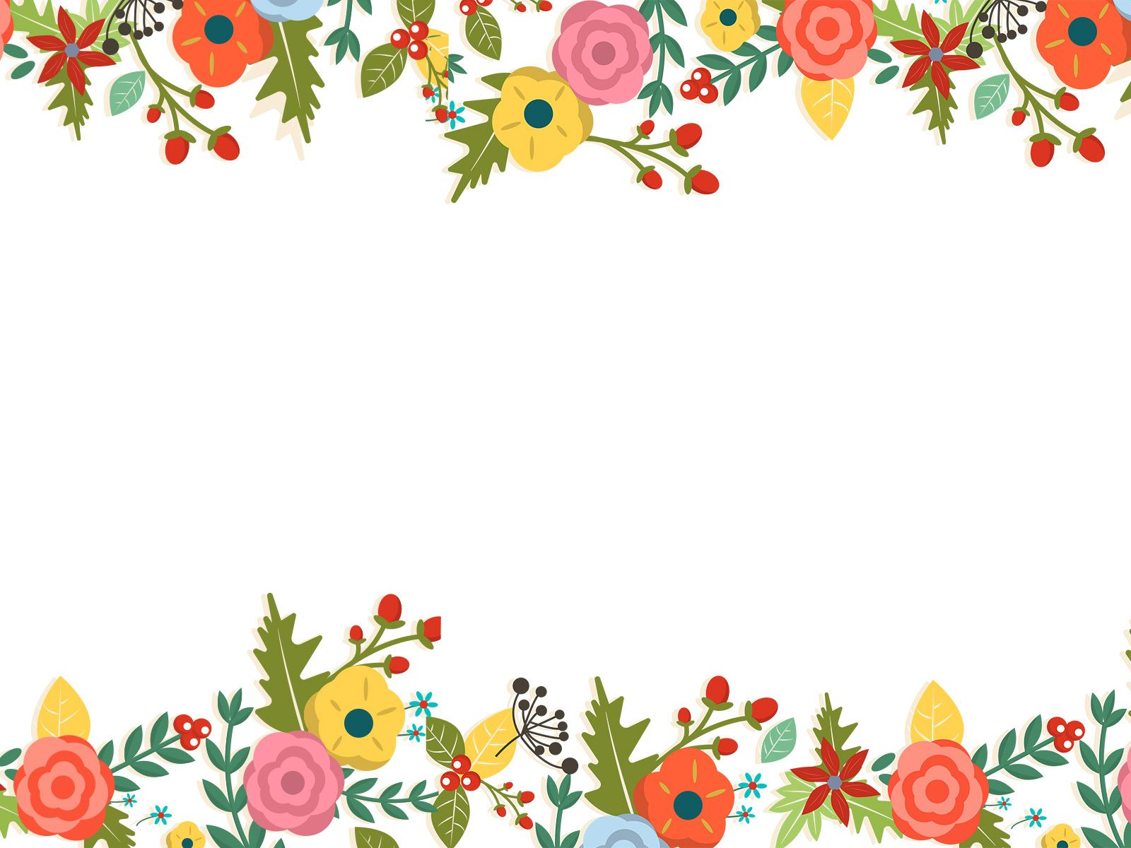 Cute Flower Floral Backgrounds DOCUMENT in 2019 Presentation 1600x1200