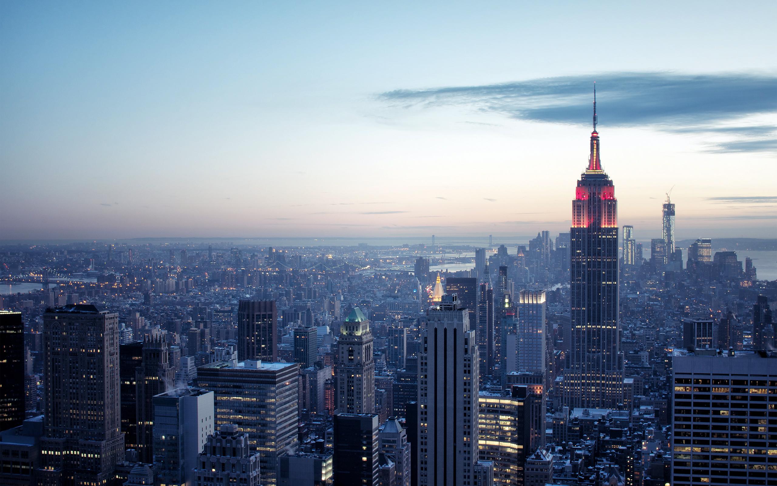Wallpapers de la ciudad de New York en alta definicin para Mac PC u 2560x1600