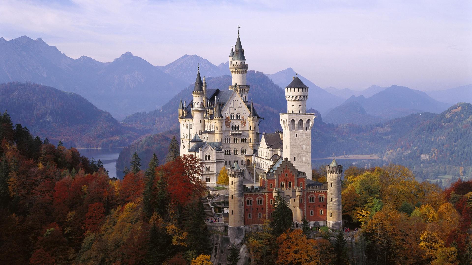 Neuschwanstein Castle Germany 1920x1080