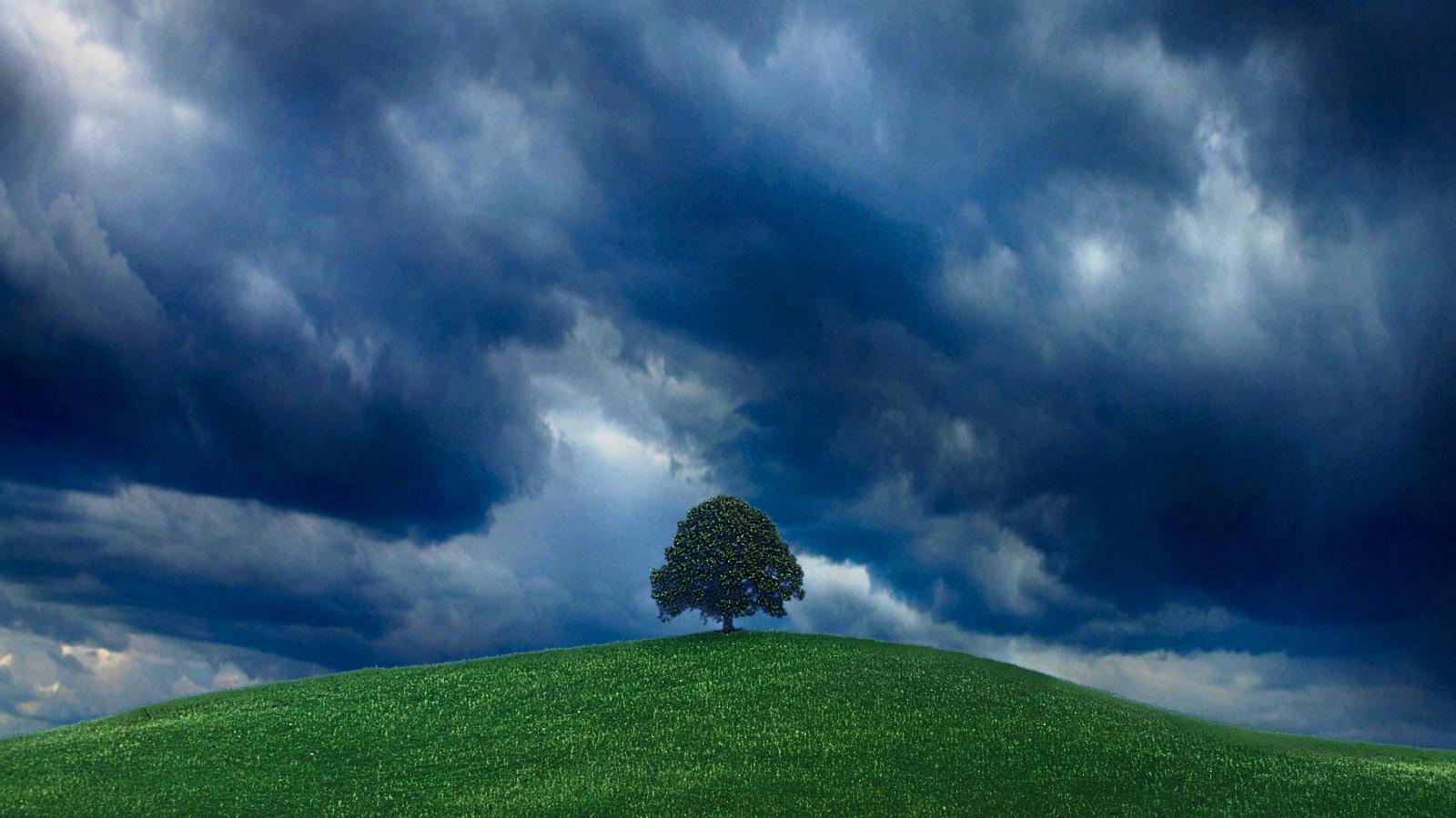 Download Wallpaper Before Thunderstorm (1600 x 900 ...