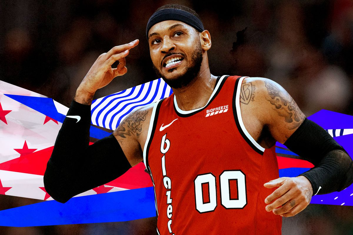Carmelo Anthonys best Blazers moments A running list   SBNationcom 1200x800
