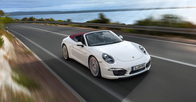 Porsche 911 Carrera Convertib HD Wallpaper Background Images 3000x1560