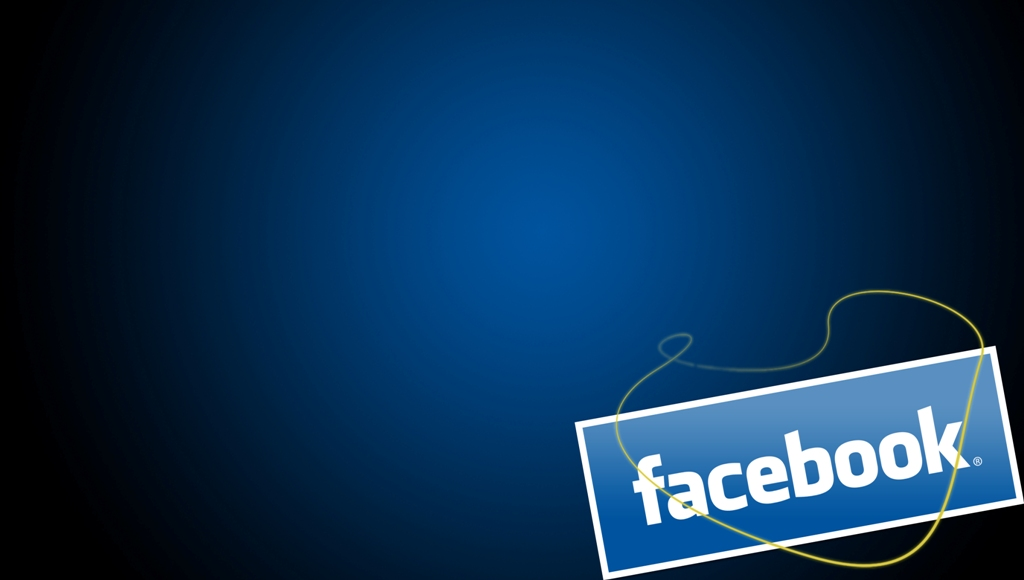 Download Facebook Dark Wallpaper 1024x580 Resolution Wallpaper 1024x580