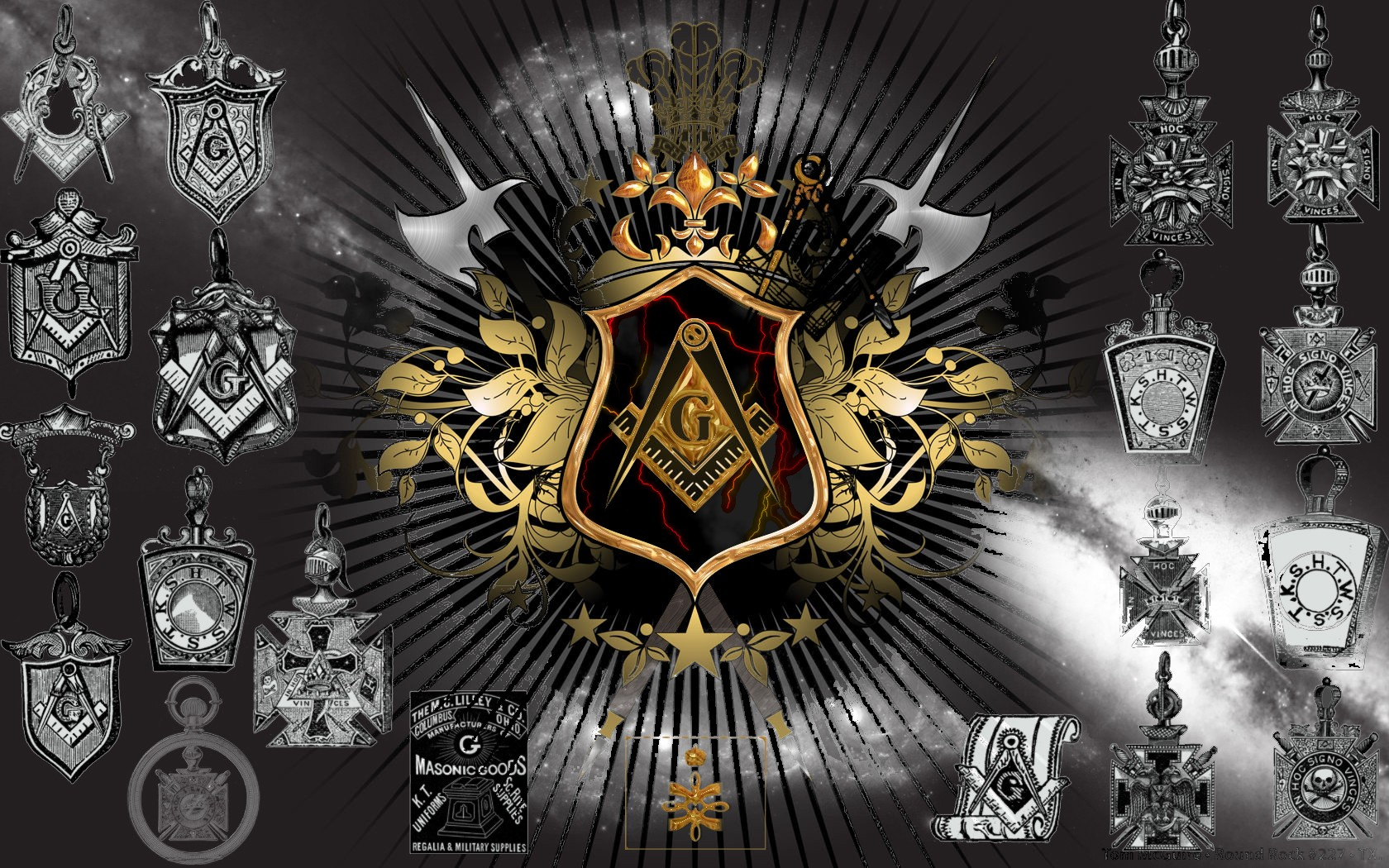 Freemason Wallpaper Backgrounds 1680x1050