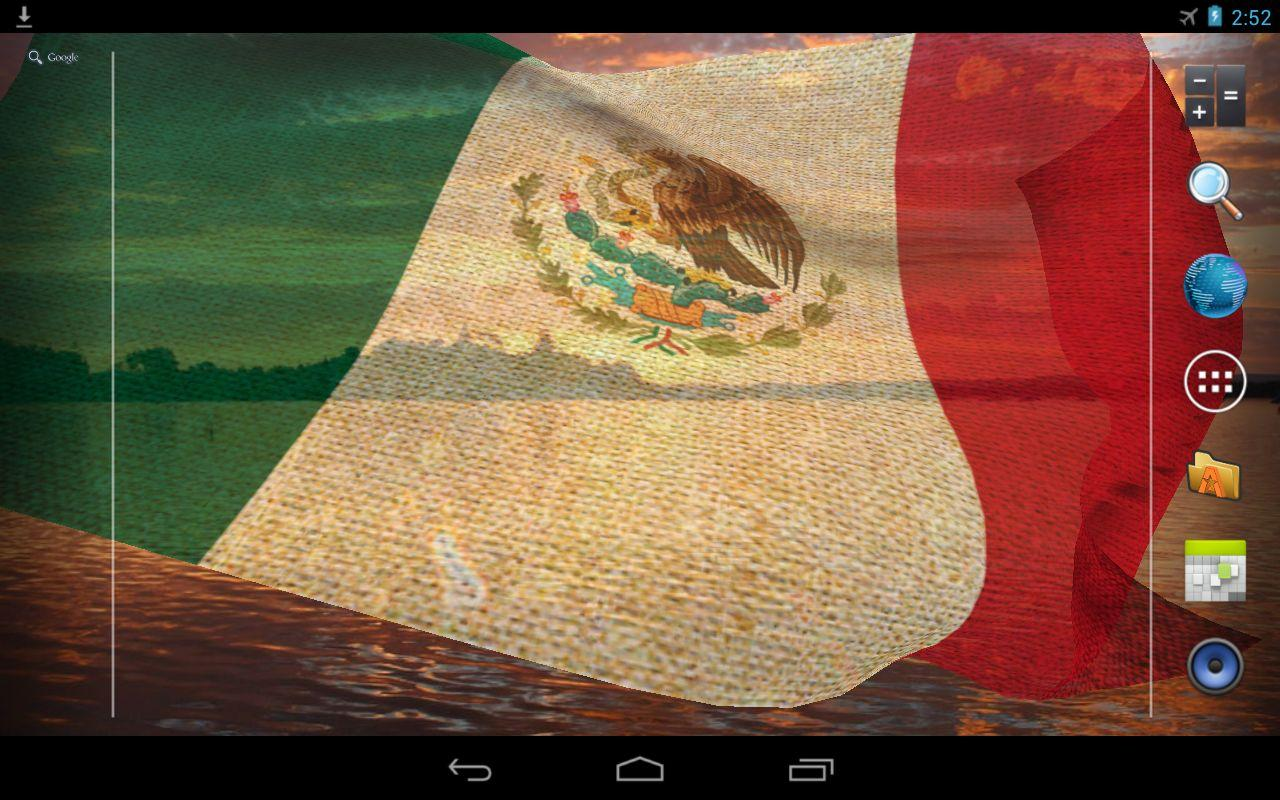 3D Mexico Flag Live Wallpaper   Android Apps on Google Play 1280x800