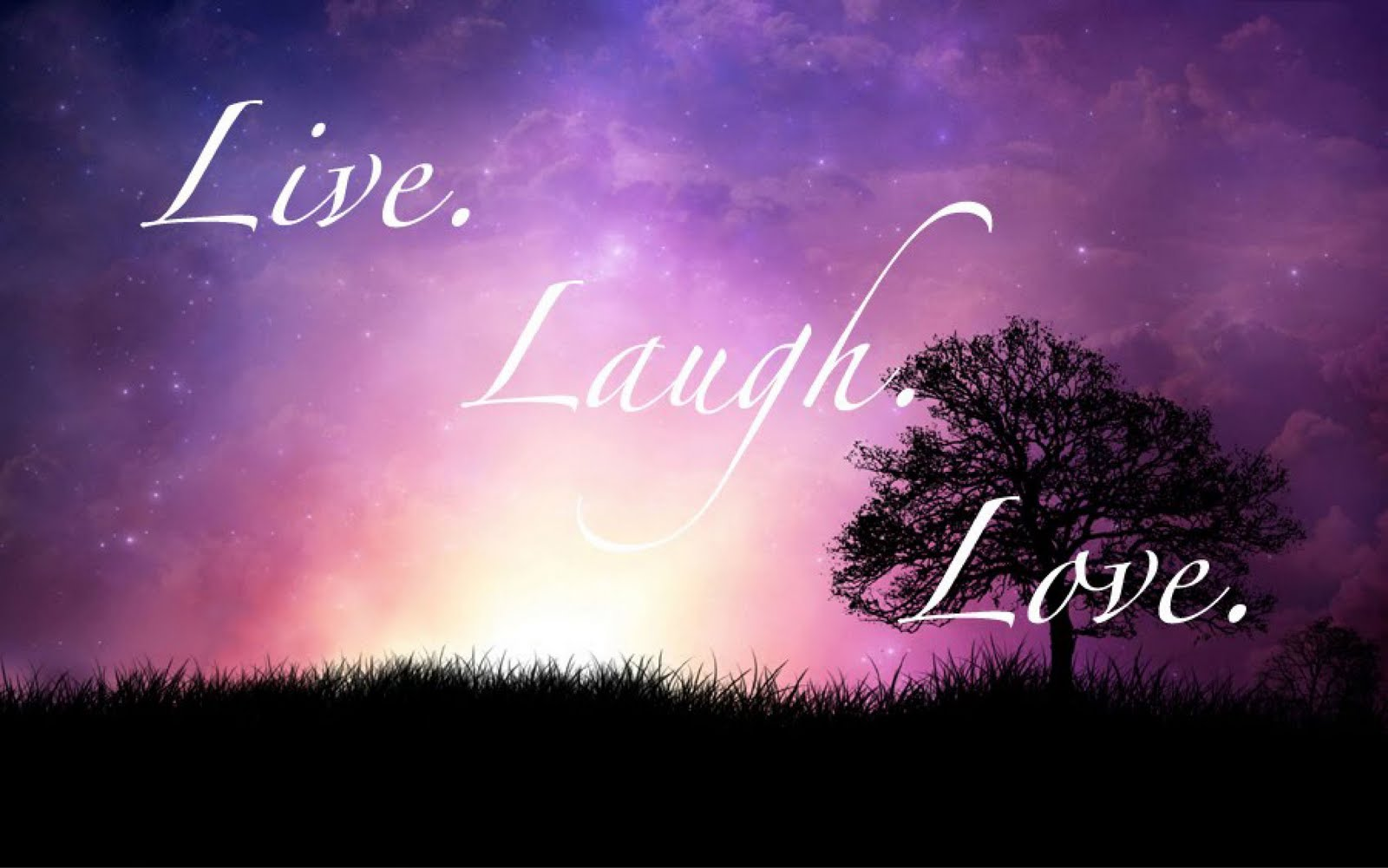 Wallpaper Love Live Tumblr : Live Laugh Love Desktop Wallpaper - WallpaperSafari
