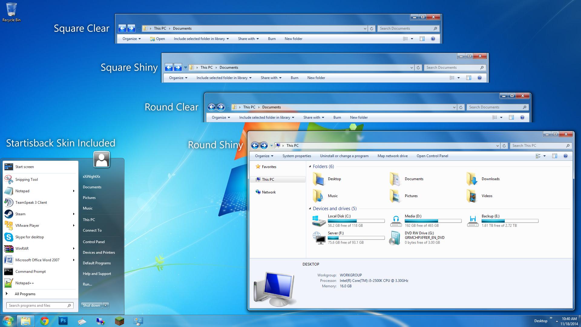 Free download windows aero by simplexdesignsart customization skins