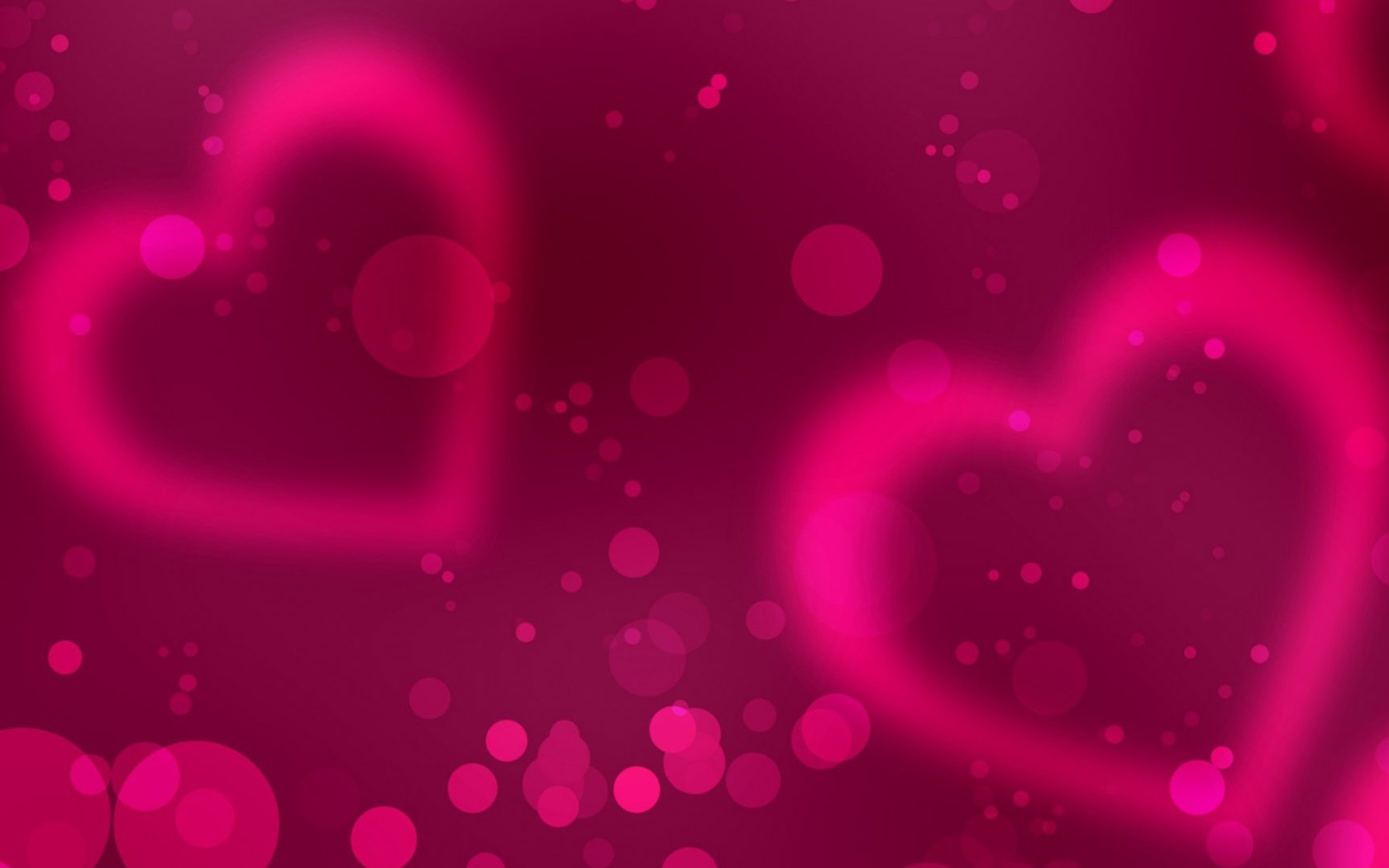 Pink Hearts Background - WallpaperSafari