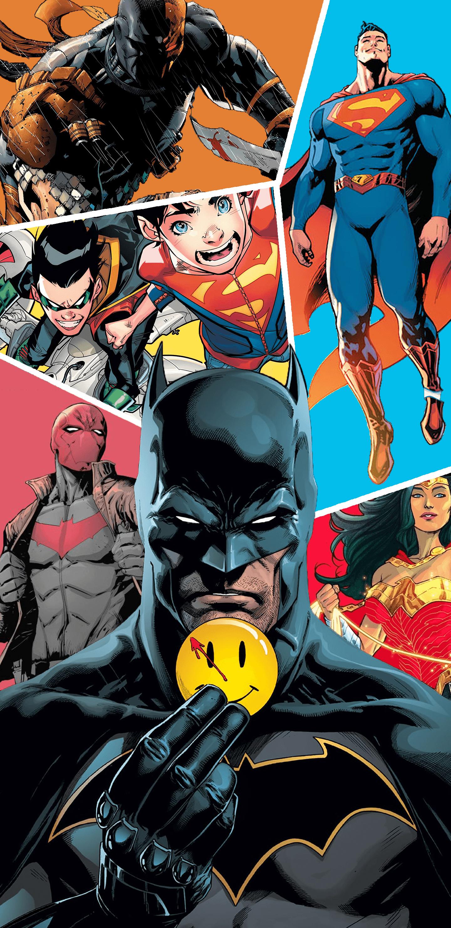 Batman Rebirth Wallpaper Page 1   Line17QQcom 1440x2960