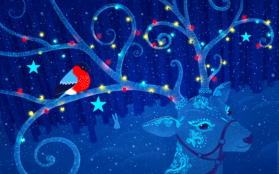 20 Awesome Christmas Desktop Backgrounds 2019 900x563