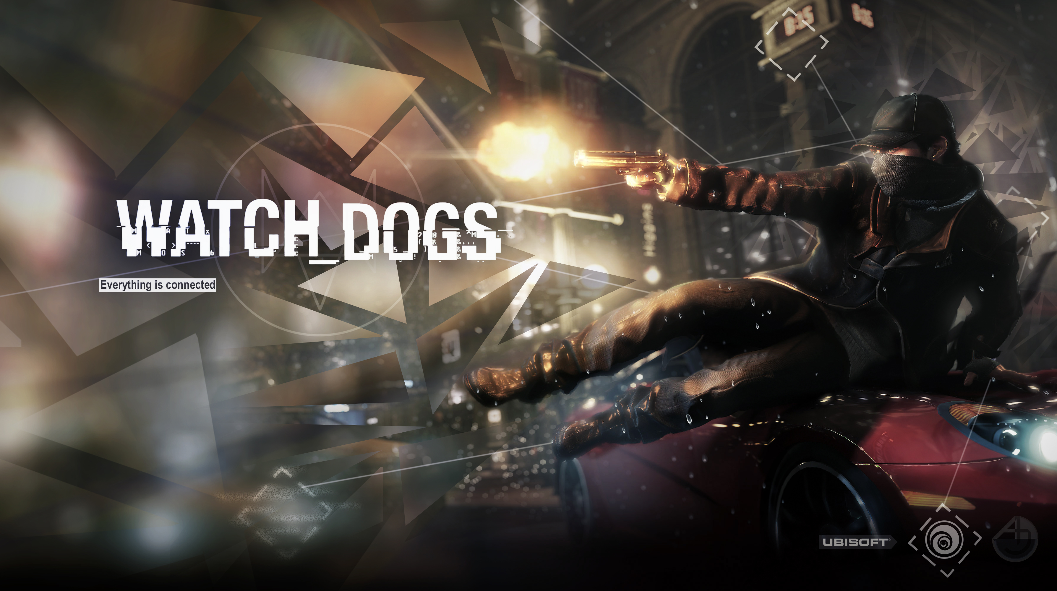 Free Download Watch Dogs Wallpaper 3576x2000 For Your Desktop