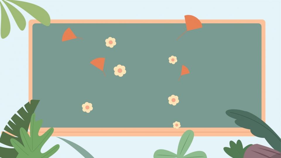 Teachers Day Chalkboard Background Design Banner Background 960x541