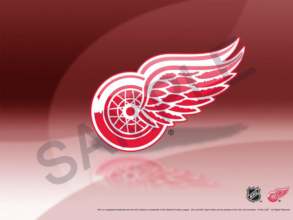 Detroit red wings logo wallpaper wallpapers 1023x767