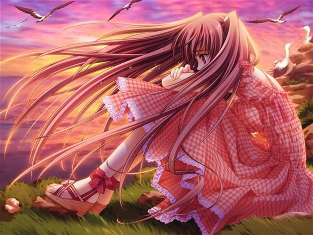 Sad Anime Girl wallpaper Anime Wallpapers HD HD Wallpapers 1024x768