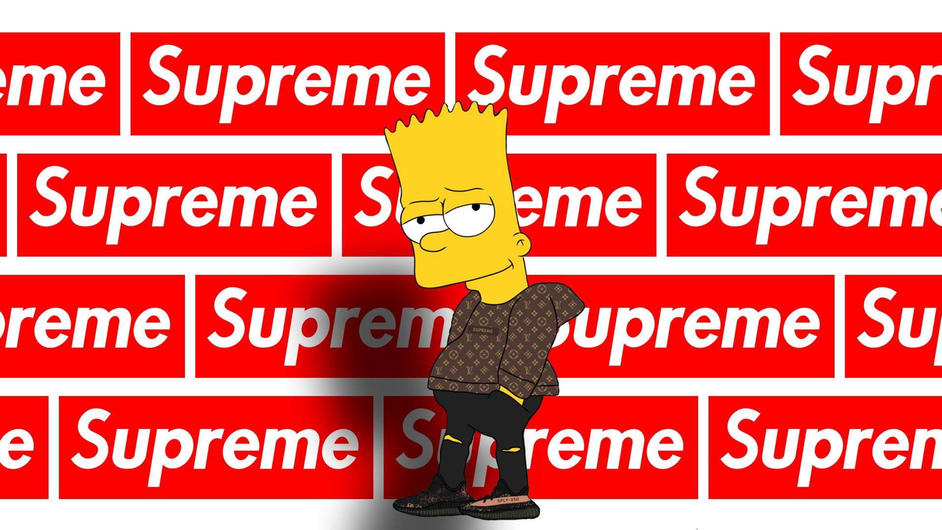 Supreme Bart Simpson Wallpapers   Top Supreme Bart Simpson 1920x1080