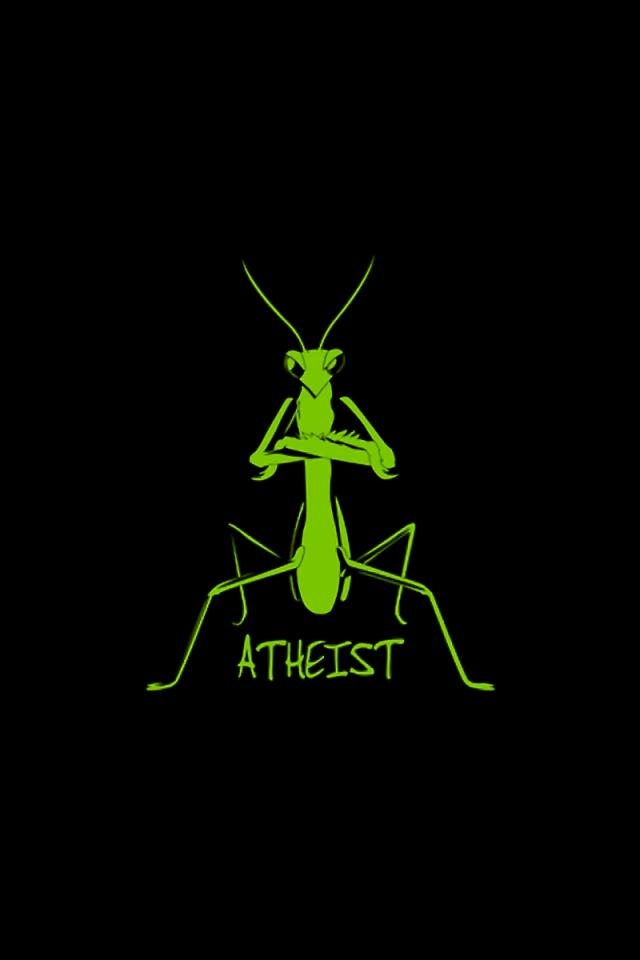 Atheist Simply beautiful iPhone wallpapers 640x960