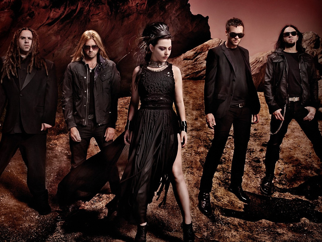 Wallpapers 8 Evanescence Biography Rock 1357x1020