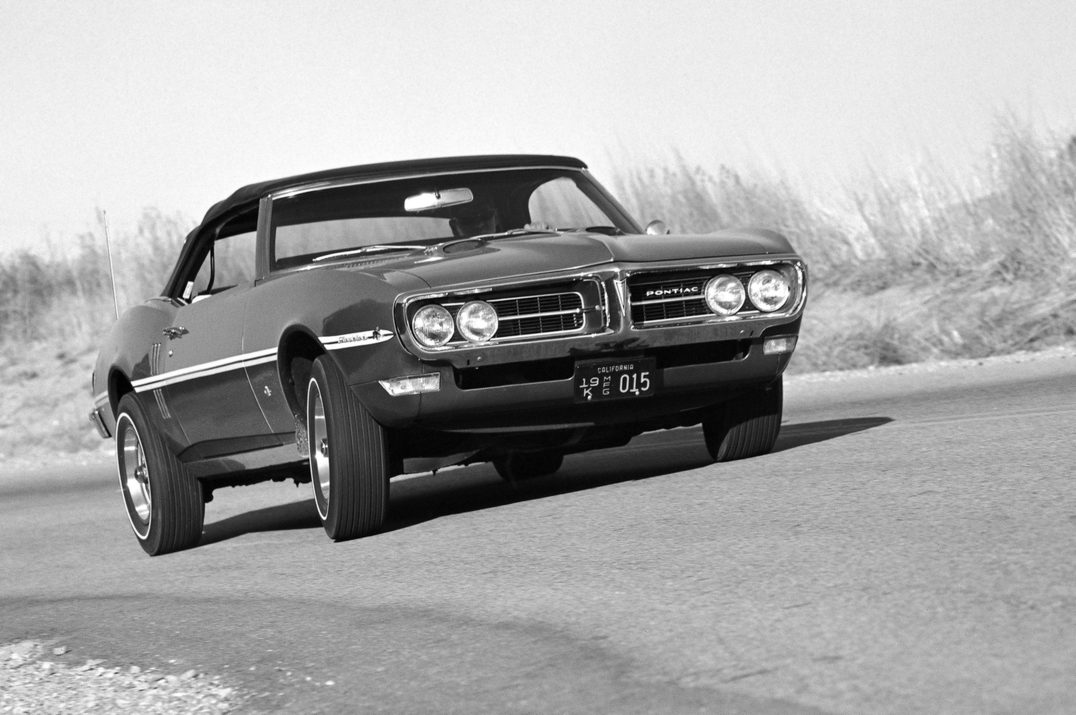 1968 Pontiac Firebird 400 Convertible 2367 muscle classic wallpaper 3500x2324