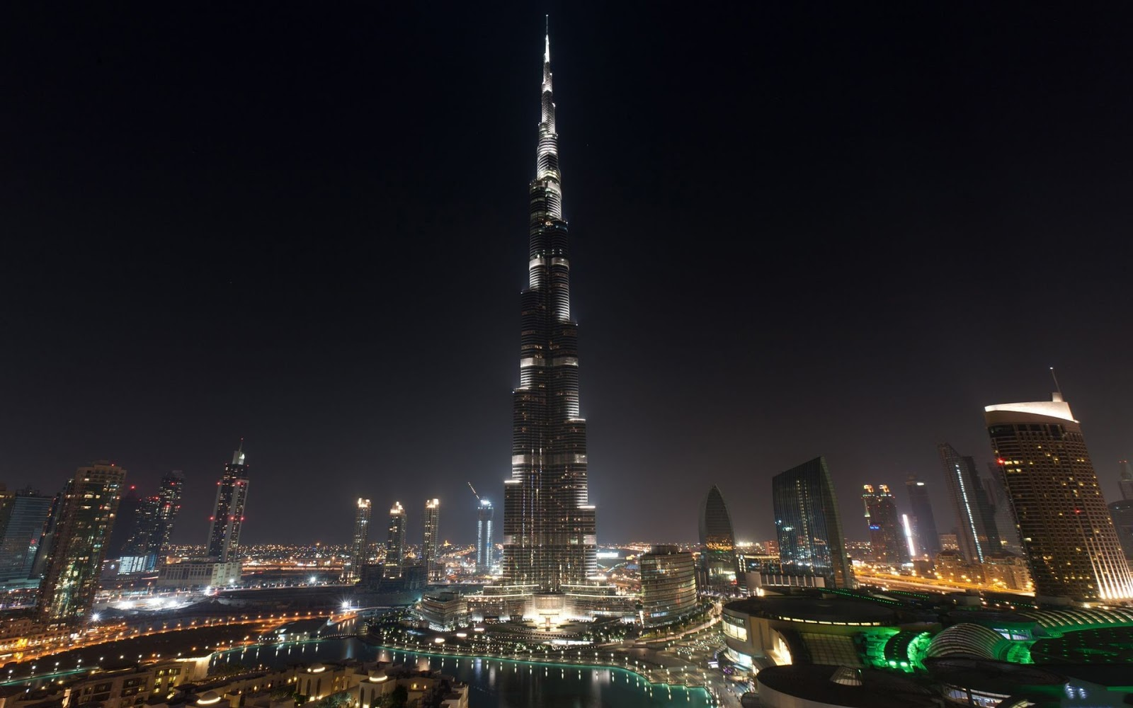 burj khalifa fresh hd wallpaper 2013 burj khalifa fresh hd 1600x1000