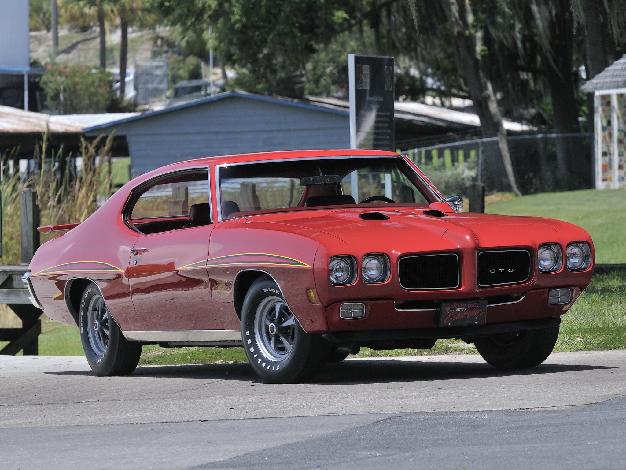 1970 Pontiac GTO Judge Hardtop Coupe 4237 muscle classic j wallpaper 2048x1536