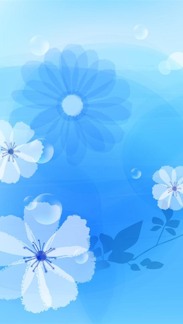 cool flowers abstract iphone 5 HD wallpapers 640x1136