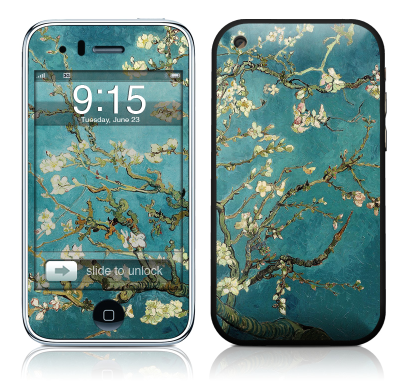Free Download Vincent Van Gogh Iphone Skin With Matching