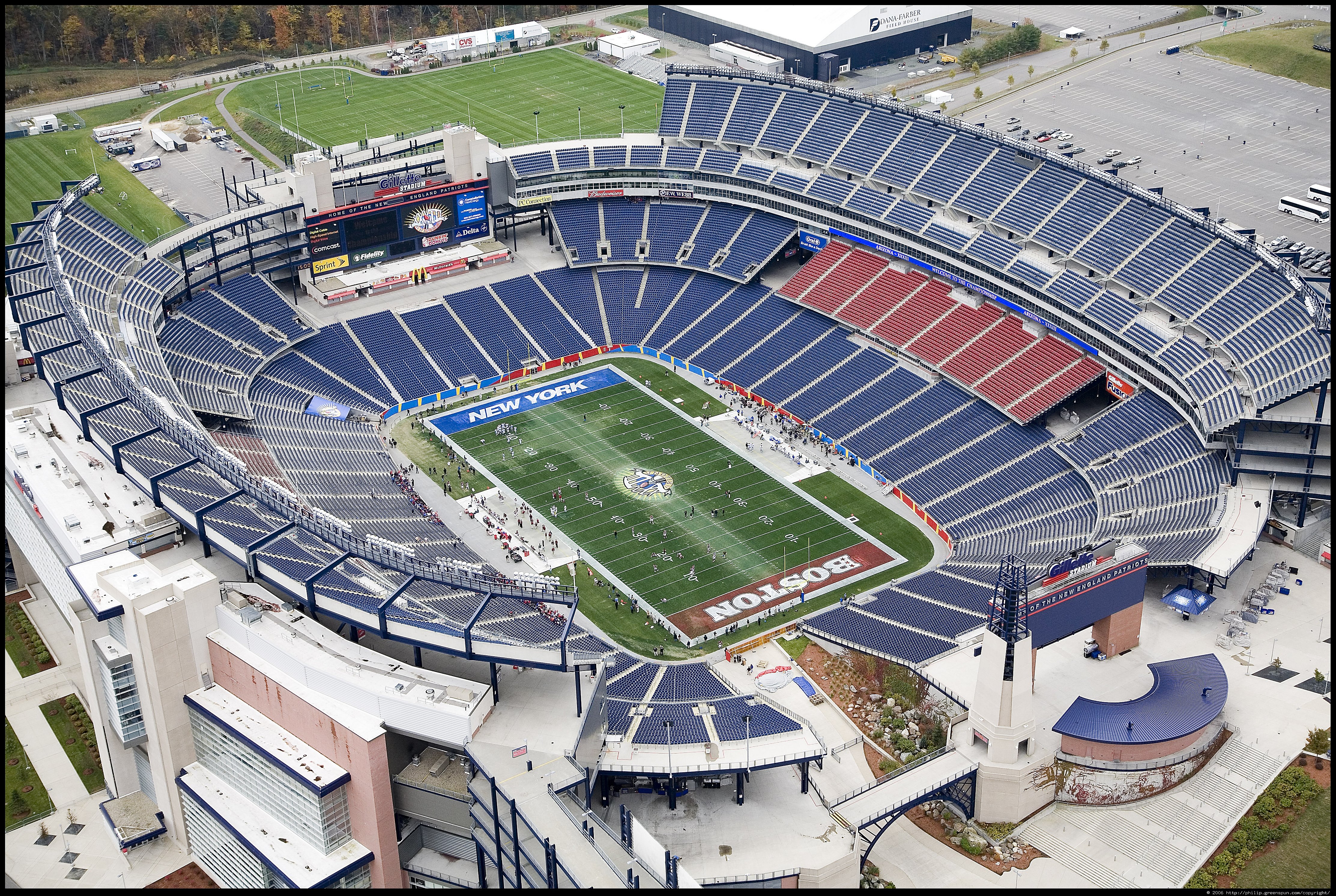1 Gillette Stadium HD Wallpapers Background Images 4450x2986