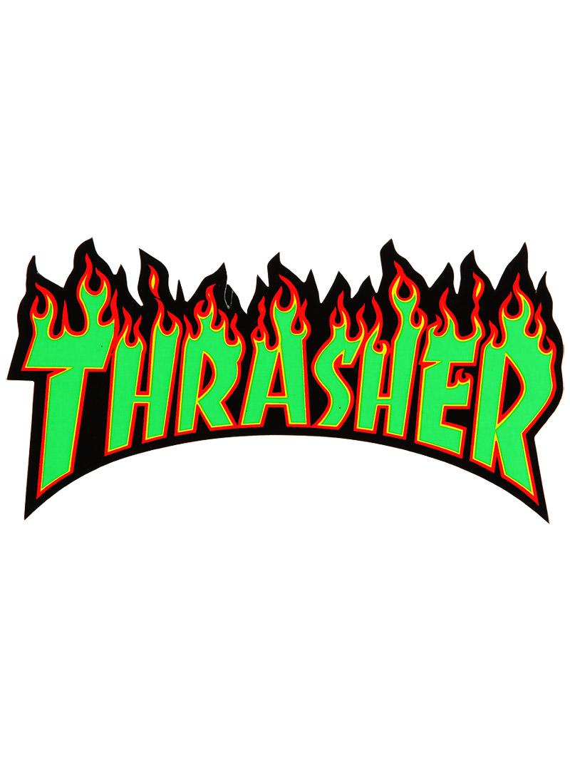 thrasher magazine thrasher skategoat logo sticker 800x1067