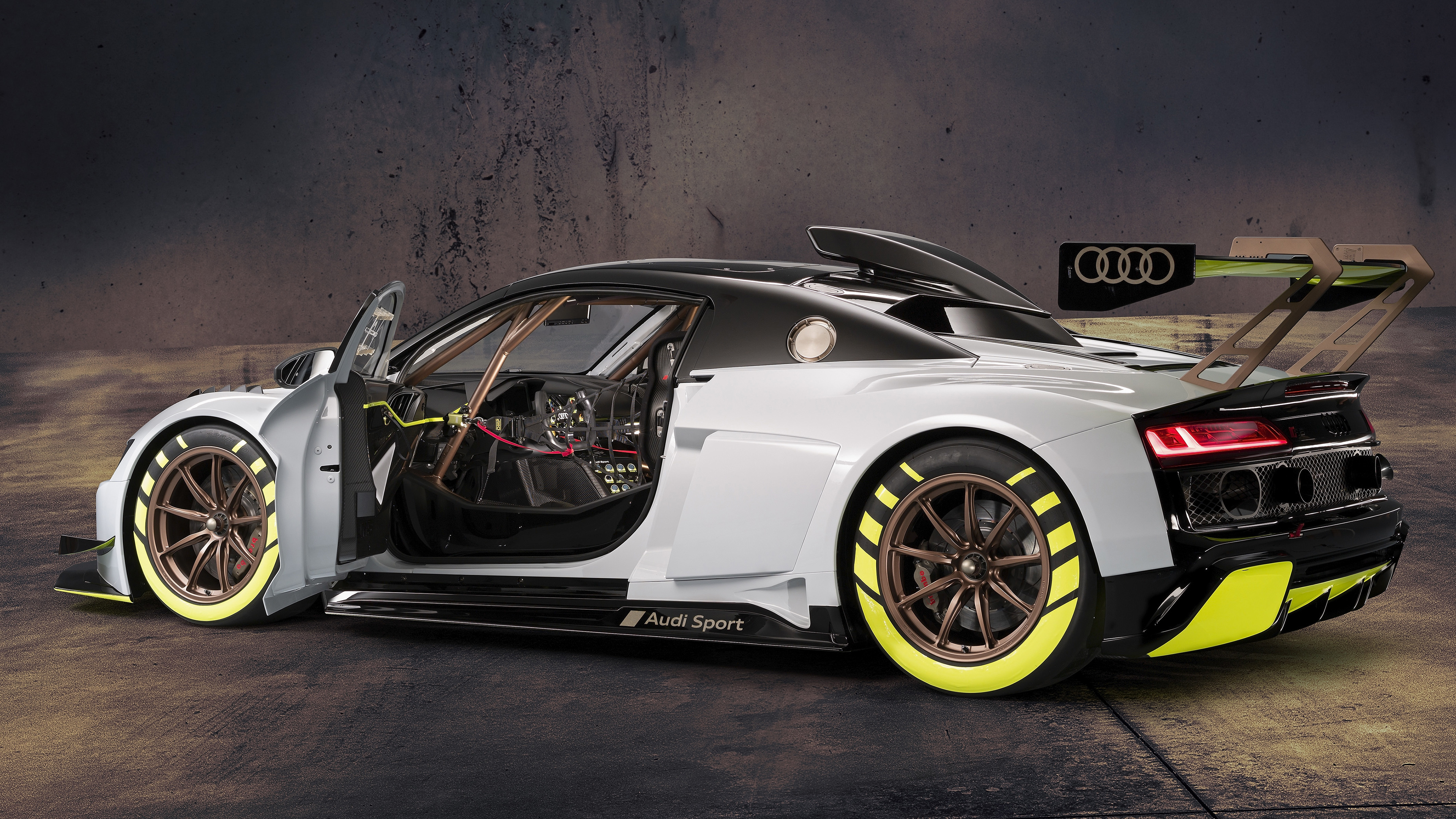 Audi R8 LMS GT2 2019 4K 2 Wallpaper HD Car Wallpapers ID 12865 4000x2250