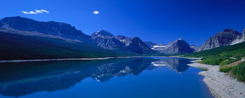 dual monitor hd wallpaper lake fifth x nature lakes windows 7 download