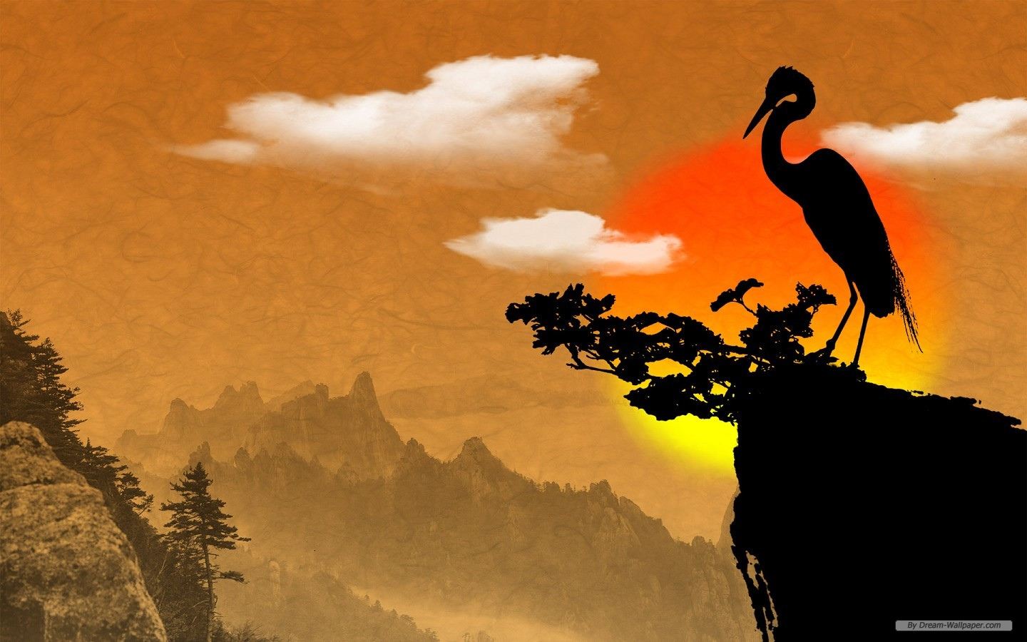 Art Wallpaper Chinese Ink Painting 1440x900 1440x900