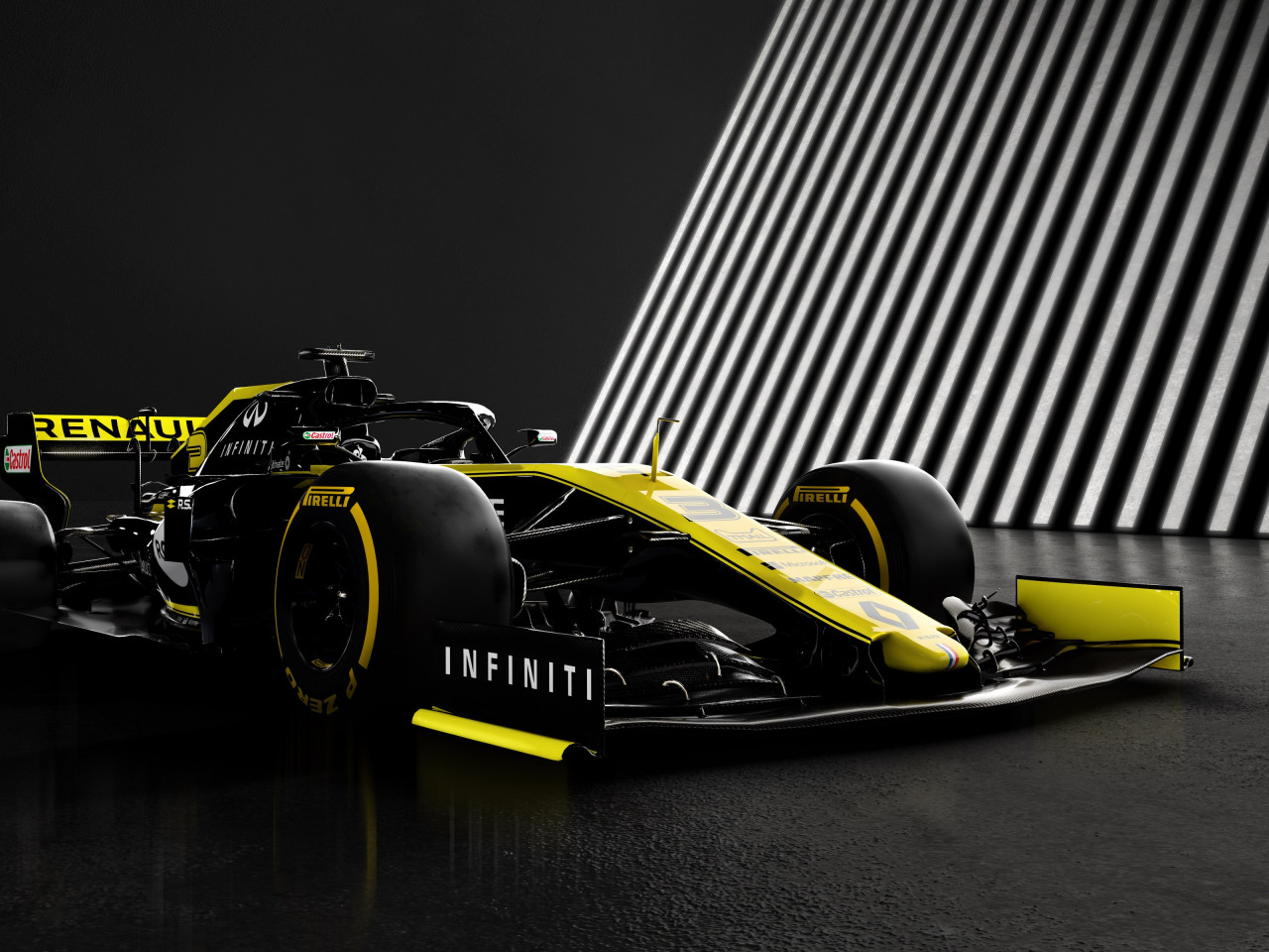 Download wallpaper Renault F1 RS19 1280x960 1280x960