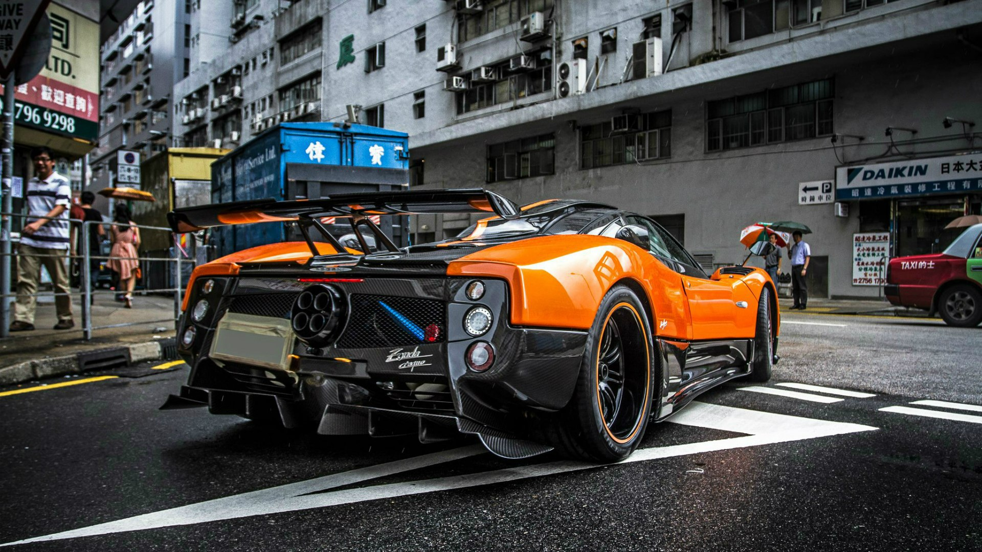 Pagani Zonda Cinque Wallpapers and Background Images   stmednet 1920x1080