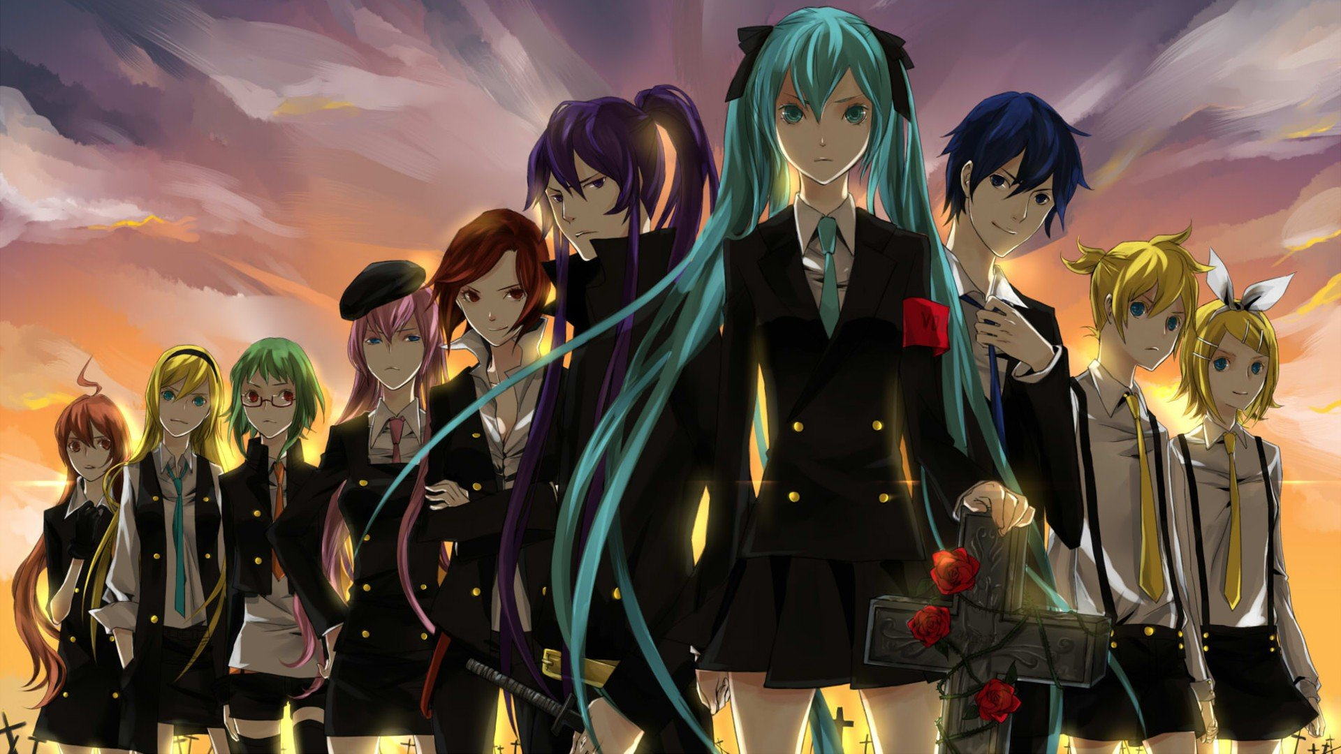 1 V Flower (Vocaloid) HD Wallpapers   Backgrounds - Wallpaper Abyss