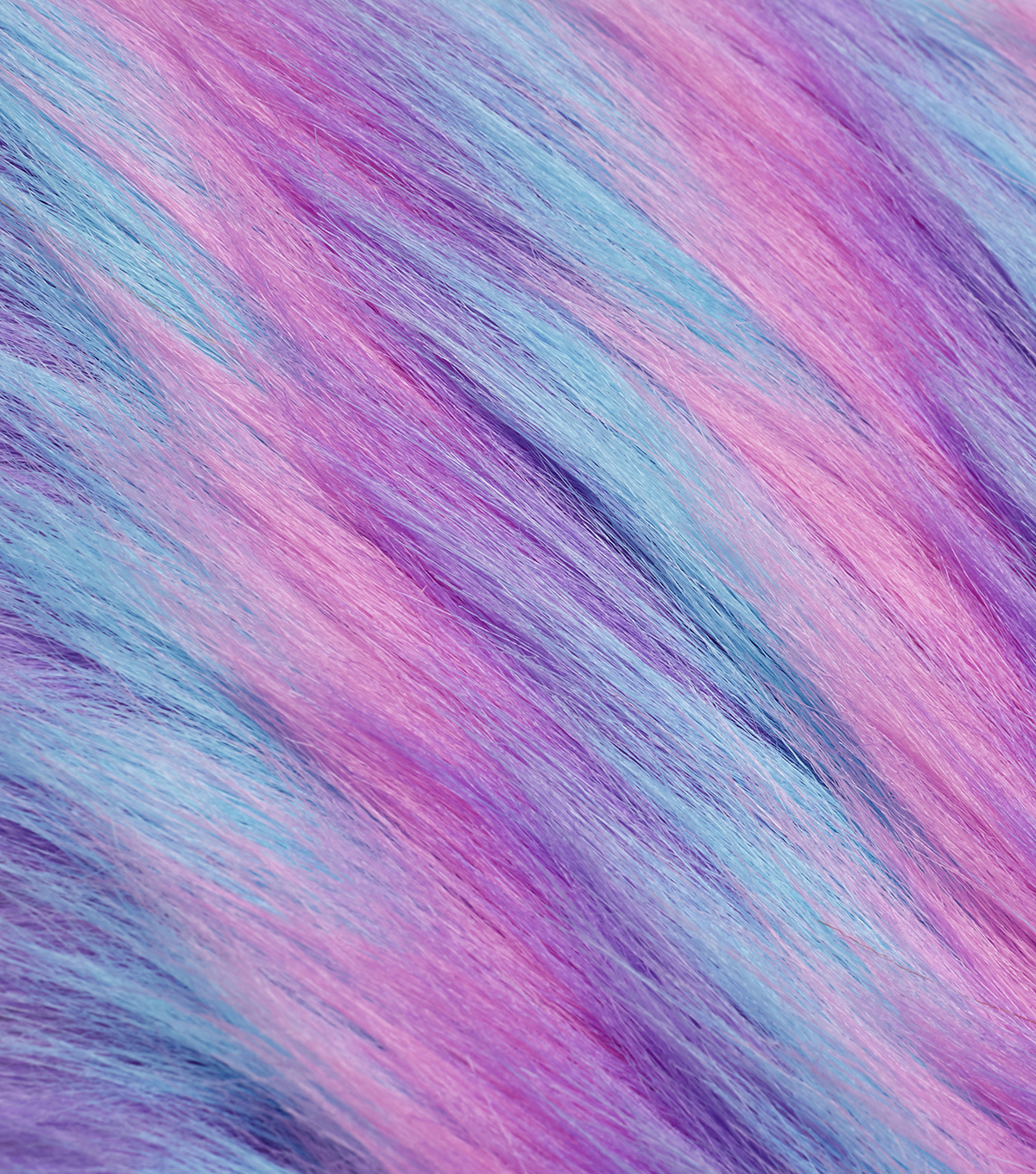 Fashion Faux Fur Fabric 59quot Blue Purple amp Pink   JoAnn 1200x1360